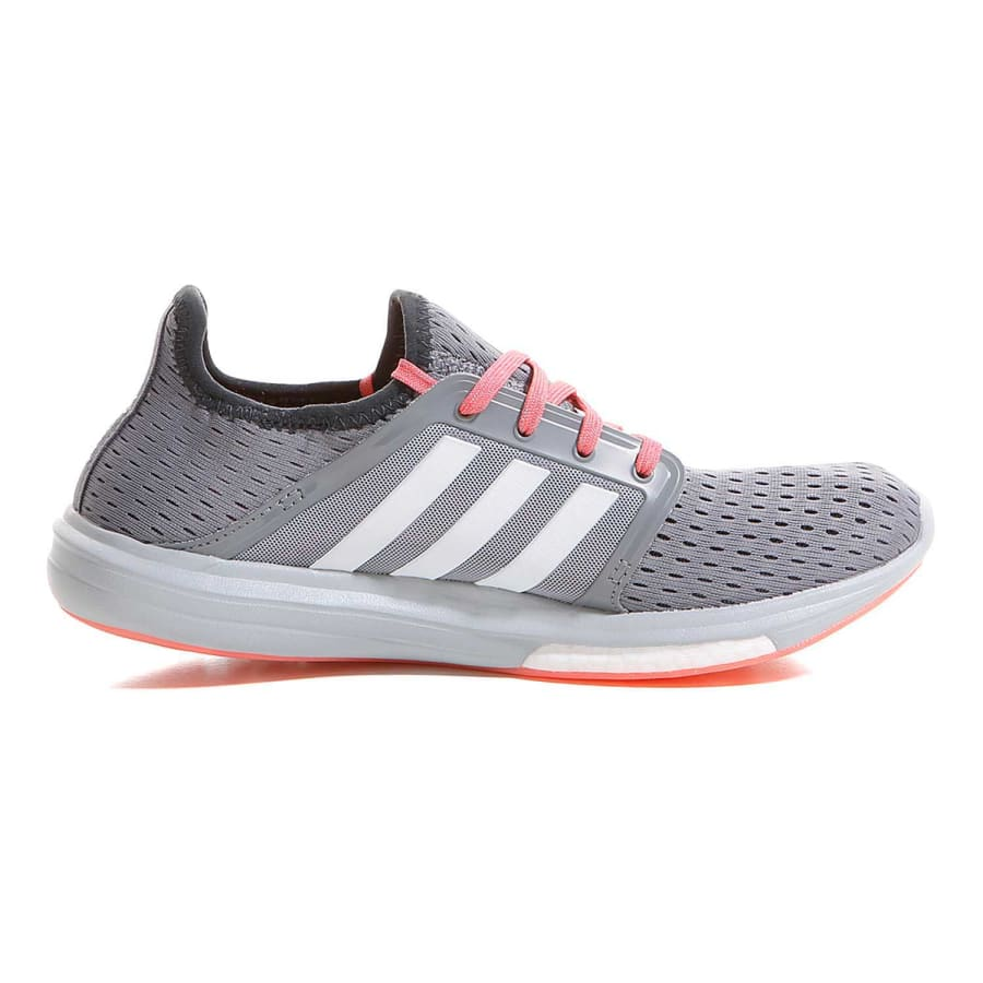 adidas cc sonic boost running shoes women gray pink. Black Bedroom Furniture Sets. Home Design Ideas