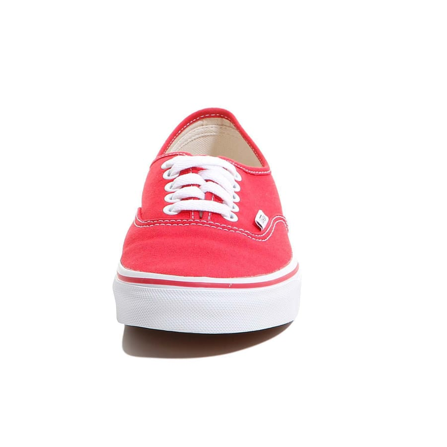 vans authentic sneaker rot vaola. Black Bedroom Furniture Sets. Home Design Ideas