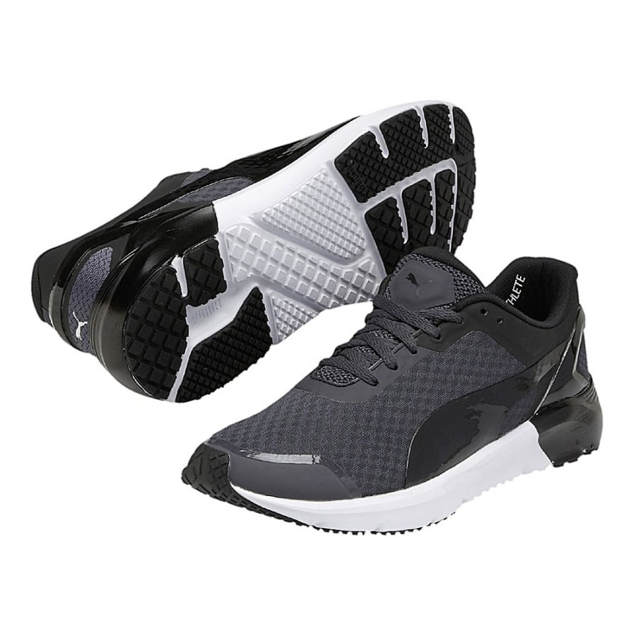 puma pulse pwr xt sport fitness shoes women black and white vaola. Black Bedroom Furniture Sets. Home Design Ideas
