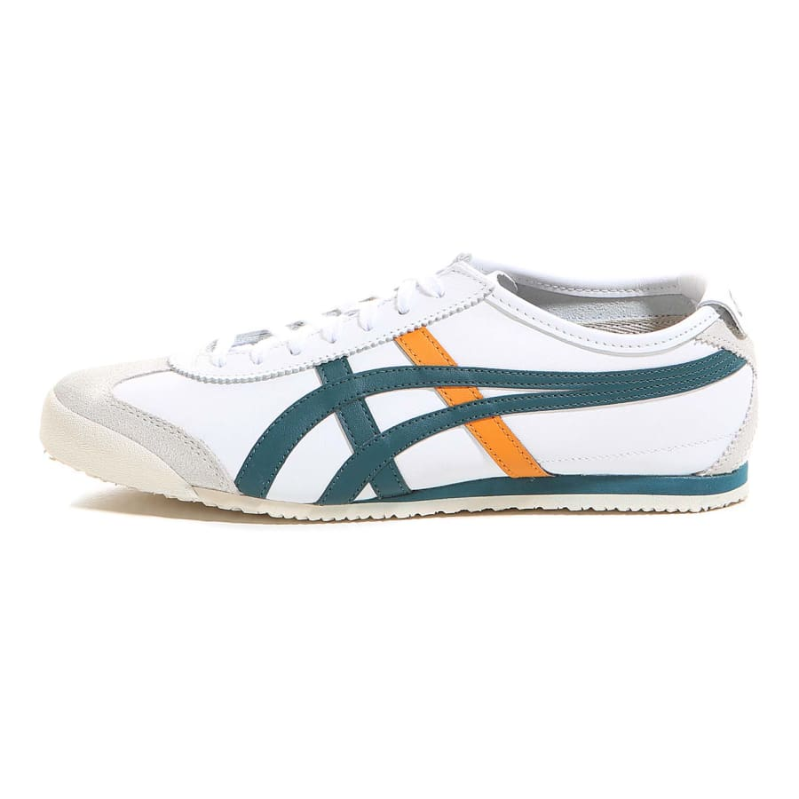 onitsuka tiger mexico 66 trainers men white green. Black Bedroom Furniture Sets. Home Design Ideas