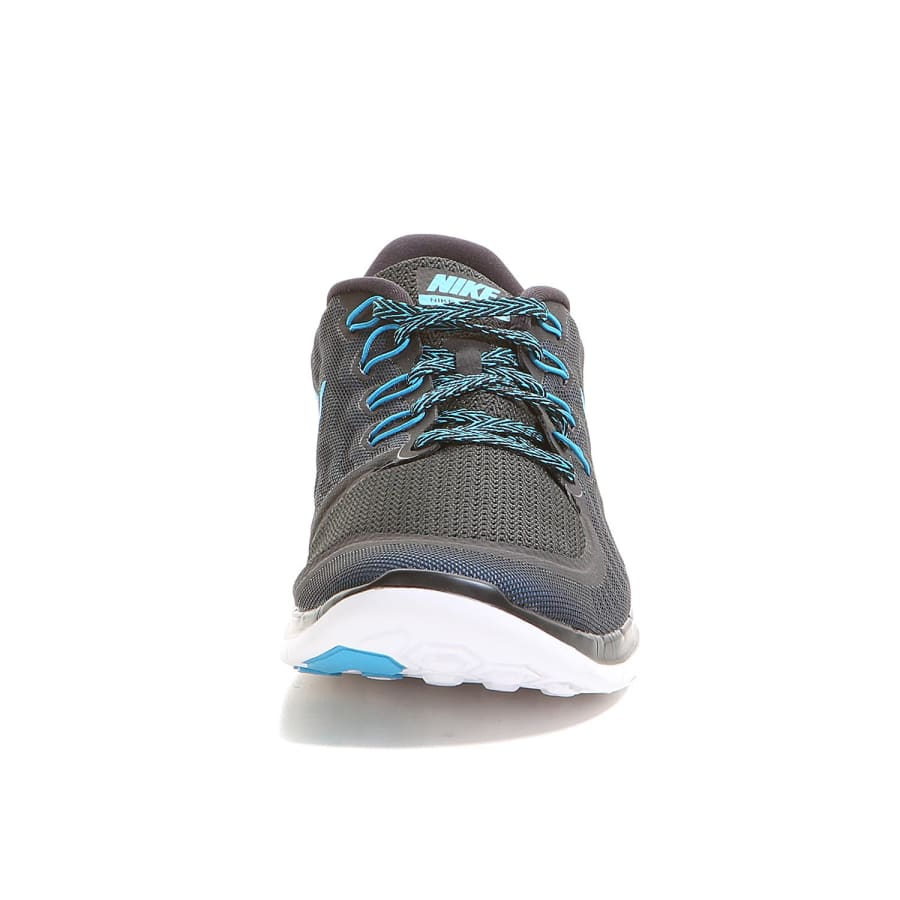 nike free 5 0 running shoes men black blue vaola. Black Bedroom Furniture Sets. Home Design Ideas