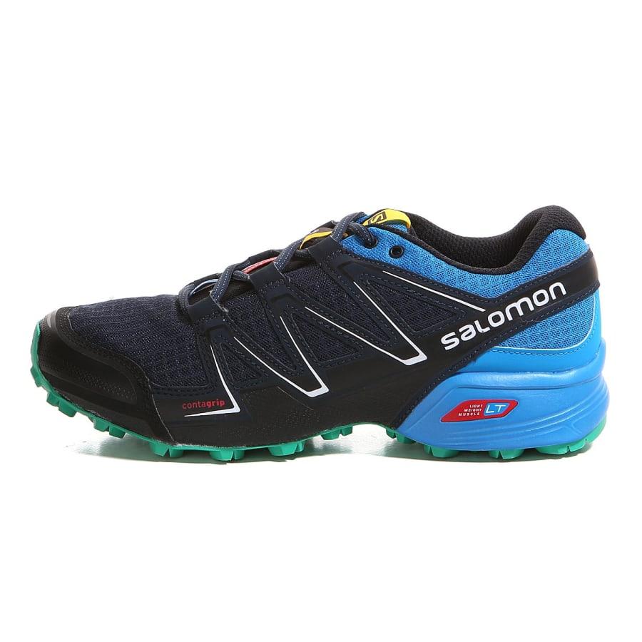 salomon speedcross vario trail running shoes men navy. Black Bedroom Furniture Sets. Home Design Ideas