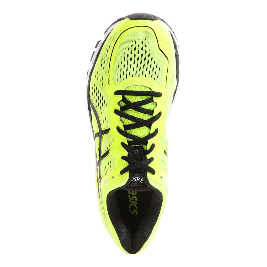 asics gel kayano 22 running shoes neon yellow black vaola. Black Bedroom Furniture Sets. Home Design Ideas