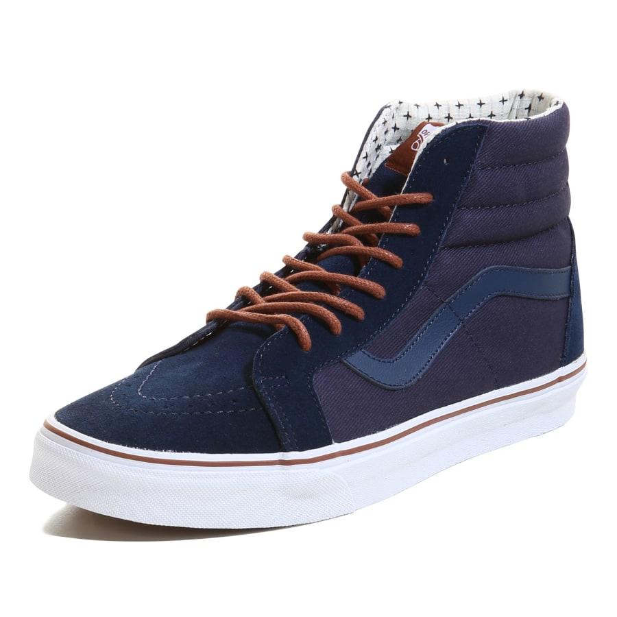 vans sk8 hi reissue sneaker men blue vaola. Black Bedroom Furniture Sets. Home Design Ideas