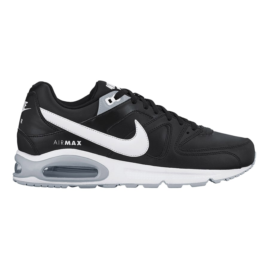 nike air max command leather men sneaker black white. Black Bedroom Furniture Sets. Home Design Ideas