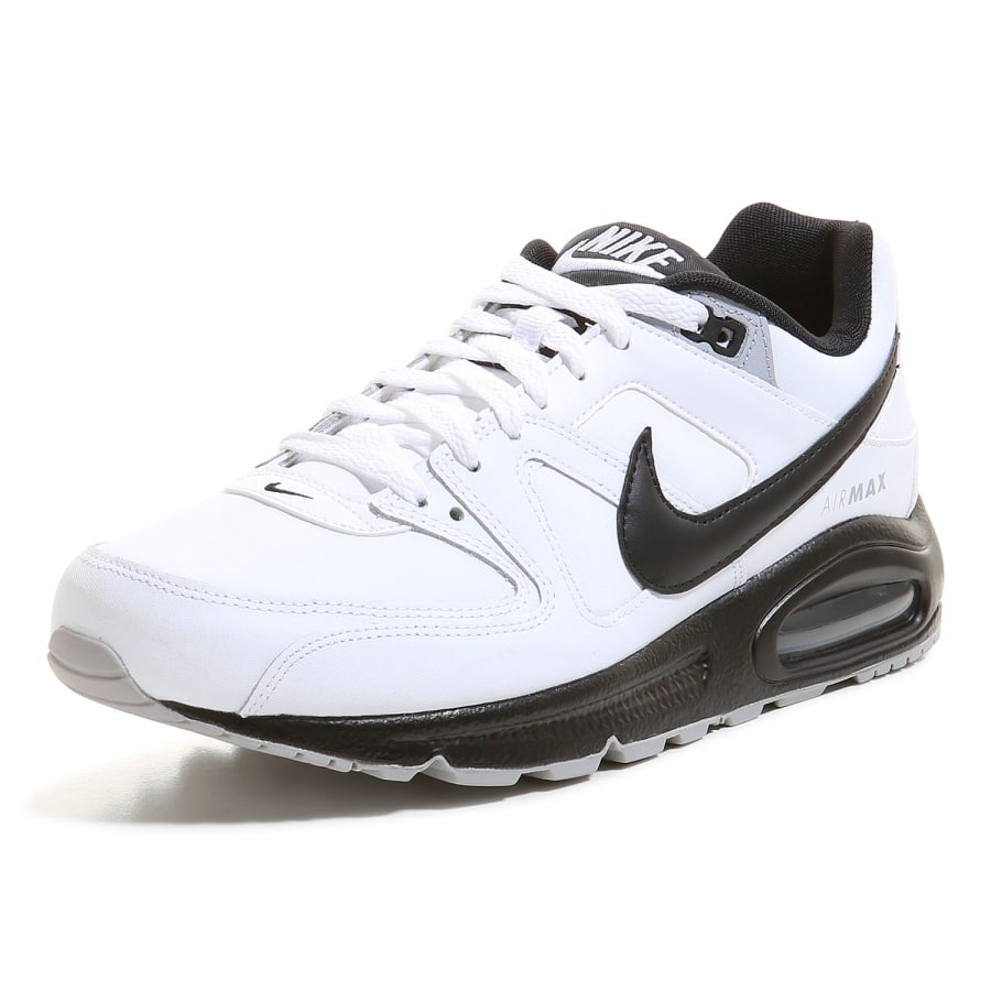 nike air max command leather sneaker herren wei. Black Bedroom Furniture Sets. Home Design Ideas