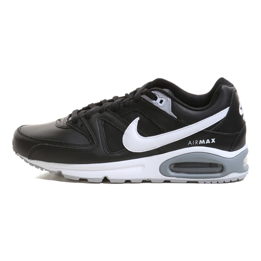 nike air max command leather sneaker herren schwarz. Black Bedroom Furniture Sets. Home Design Ideas