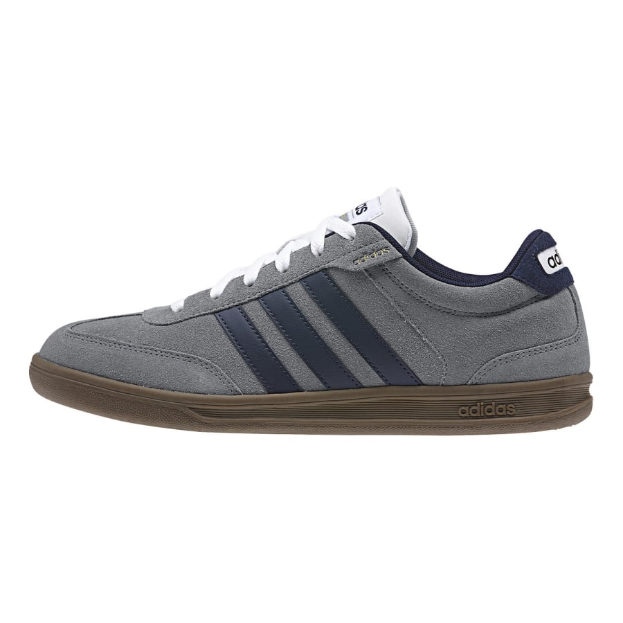 adidas neo cross court sneaker men grey blue vaola. Black Bedroom Furniture Sets. Home Design Ideas