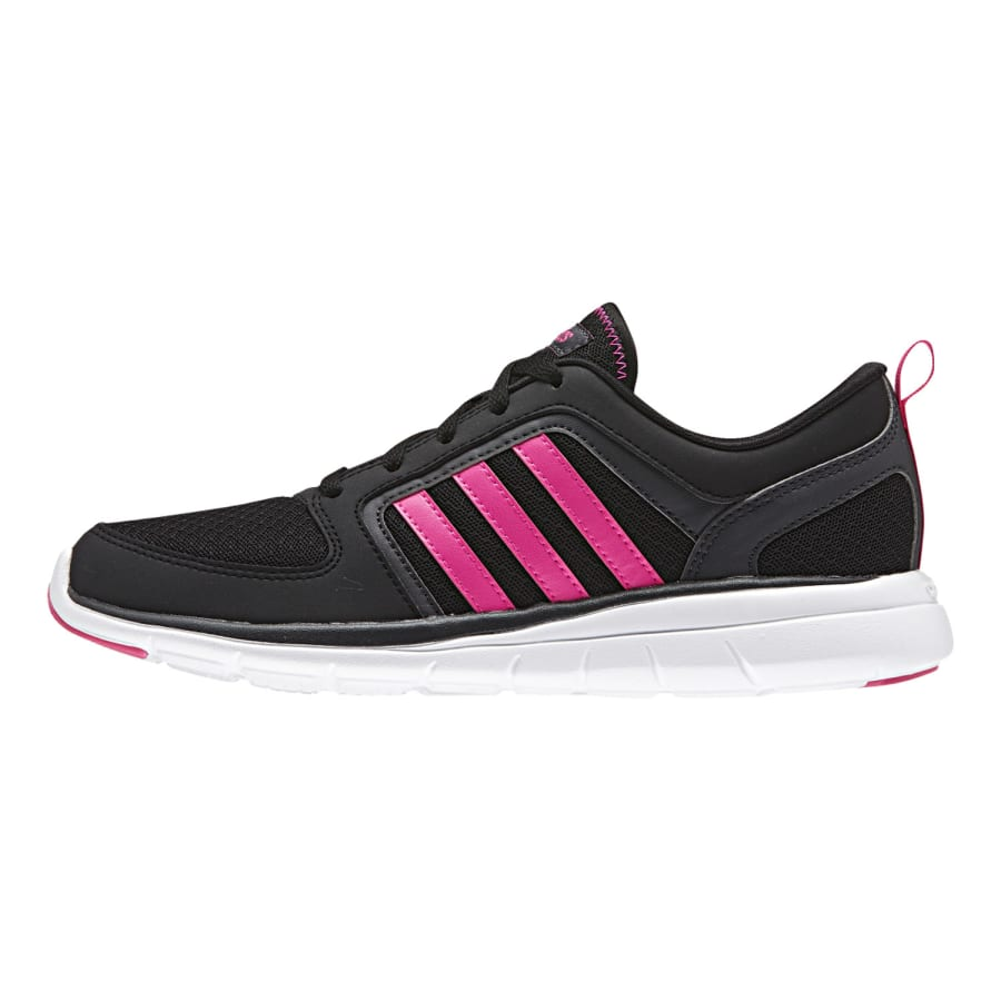 adidas neo x lite sneaker women black and pink vaola. Black Bedroom Furniture Sets. Home Design Ideas