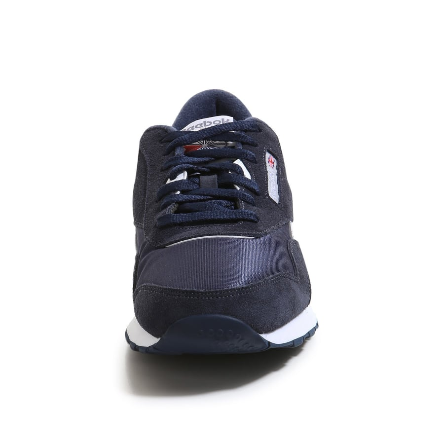 reebok classic polyamide sneaker men blue grey vaola. Black Bedroom Furniture Sets. Home Design Ideas