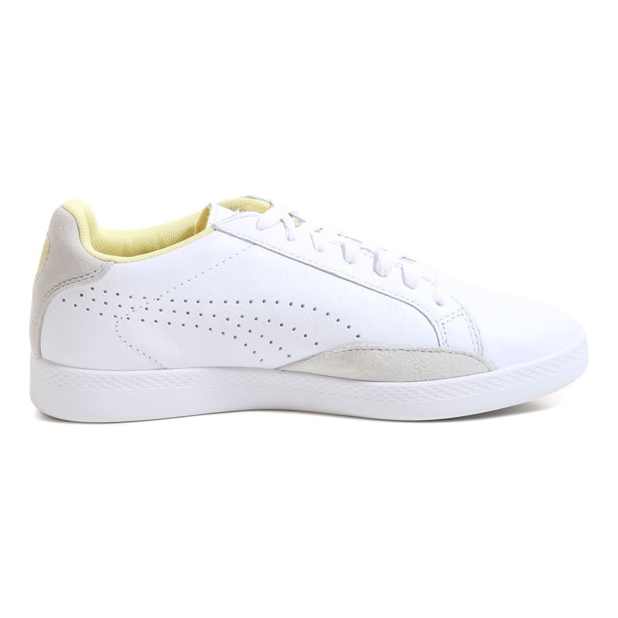puma match lo basic sports sneaker women white vaola. Black Bedroom Furniture Sets. Home Design Ideas