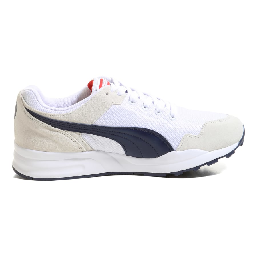 puma xt 0 sneaker men white beige navy vaola. Black Bedroom Furniture Sets. Home Design Ideas