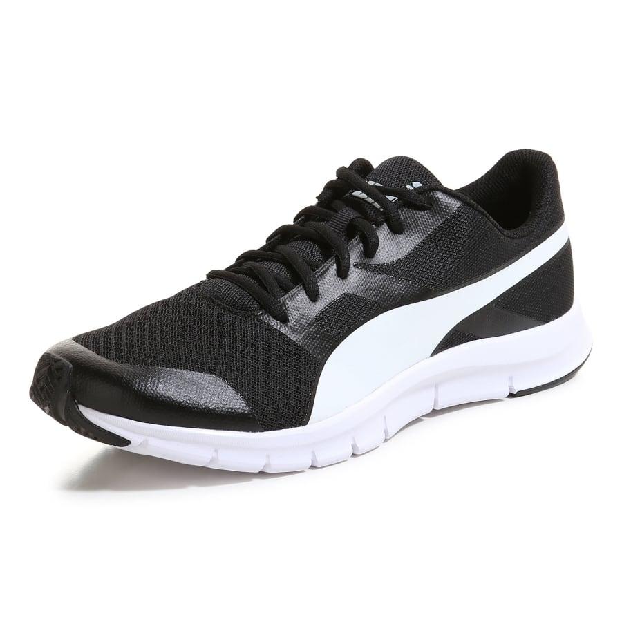 puma flexracer sneaker men black white vaola. Black Bedroom Furniture Sets. Home Design Ideas