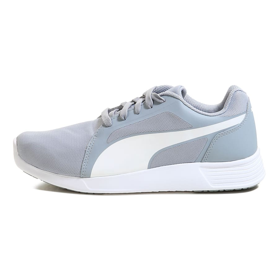 puma st trainer evo sneaker men gray white vaola. Black Bedroom Furniture Sets. Home Design Ideas