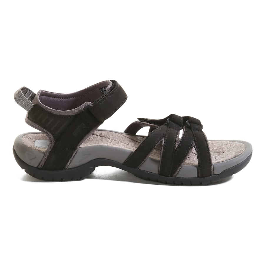 teva tirra leather outdoor sandalen damen schwarz vaola. Black Bedroom Furniture Sets. Home Design Ideas