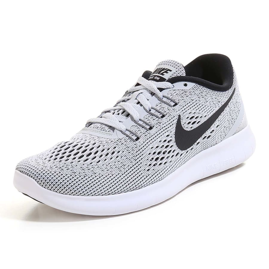 nike free run natural running shoes women white black. Black Bedroom Furniture Sets. Home Design Ideas