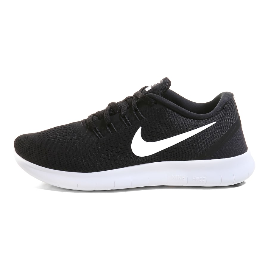Nike | FREE RUN running shoes women | black-white | VAOLA