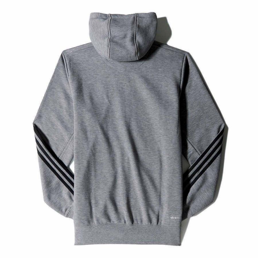 adidas sport essentials 3s fullzip hoodie fleece herren. Black Bedroom Furniture Sets. Home Design Ideas