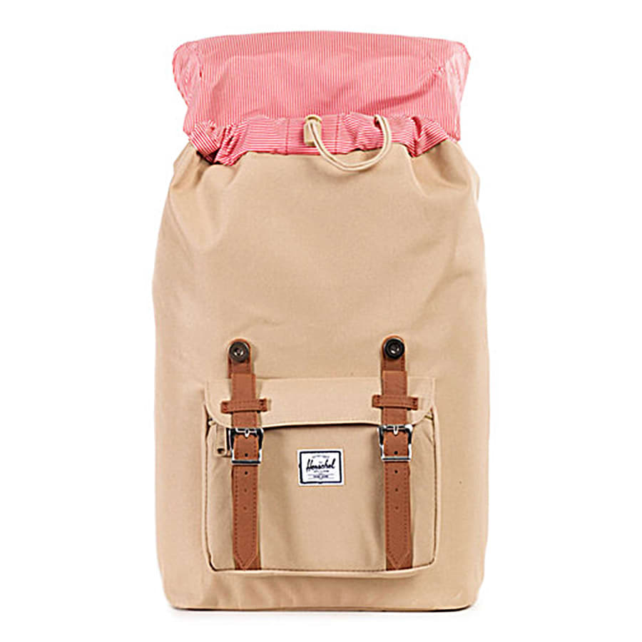 herschel little america mid volume classic backpack beige brown vaola. Black Bedroom Furniture Sets. Home Design Ideas