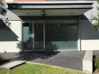 3M Frost Privacy Film On Office Building