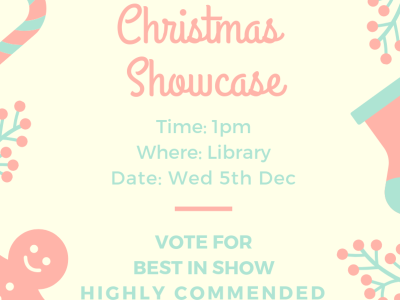 Year 8 Create A Cake Christmas Showcase
