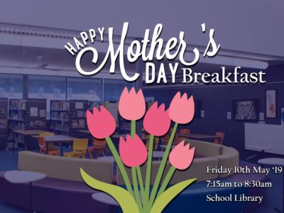 Happy Mothers Day Breakfast at Cecil Hills HS