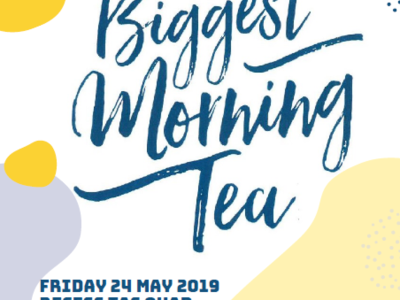 We're Hosting Australia's Biggest Morning Tea