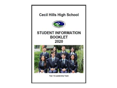 2020 Student Information Booklet Now Available