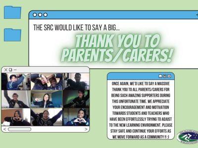 Thank you Parents/Carers