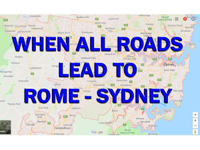 WHEN ALL ROADS LEAD TO ROME (SYDNEY)