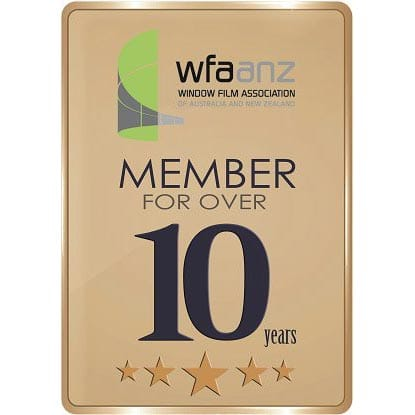 Member of Window Films Association of Australia