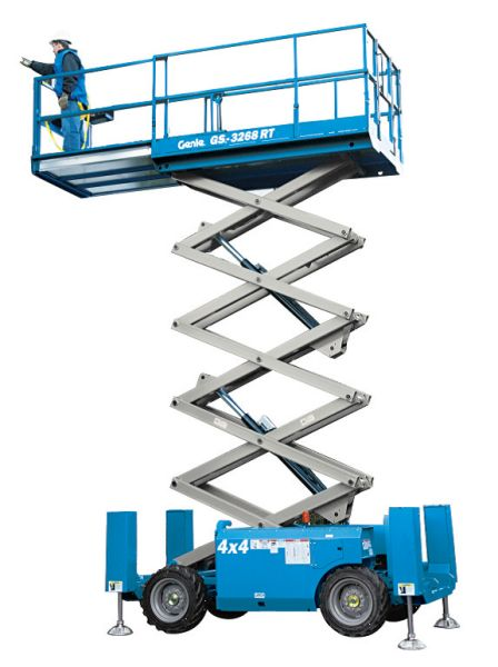 32ft Scissor Lift - Diesel