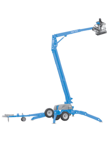 50ft Trailer-Mounted Cherry Picker