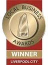 Liverpool City Local Business Winner Award