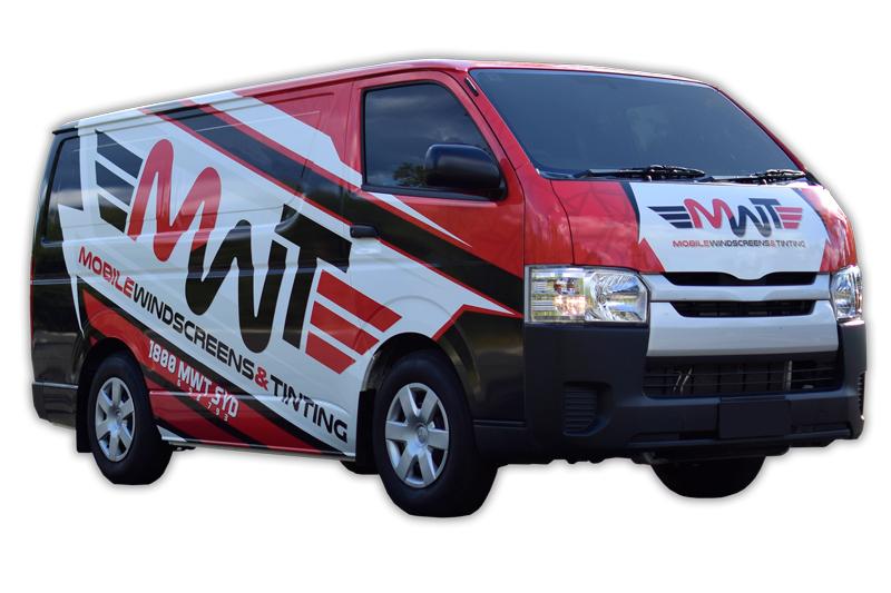 MWT Auto Glass Service Van
