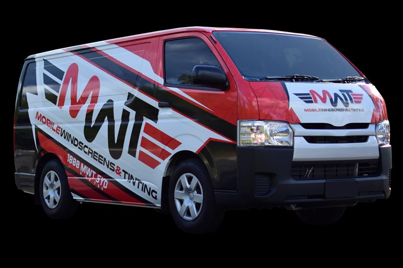 MWT Auto Glass Mobile Work Van