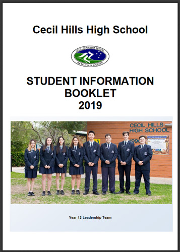 Student Information Booklet 2019