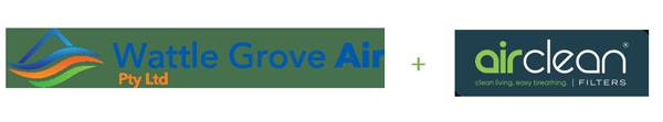 Wattle Grove Air and AirClean Logos