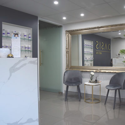 Oasis Medispa Beauty Salon Foyer