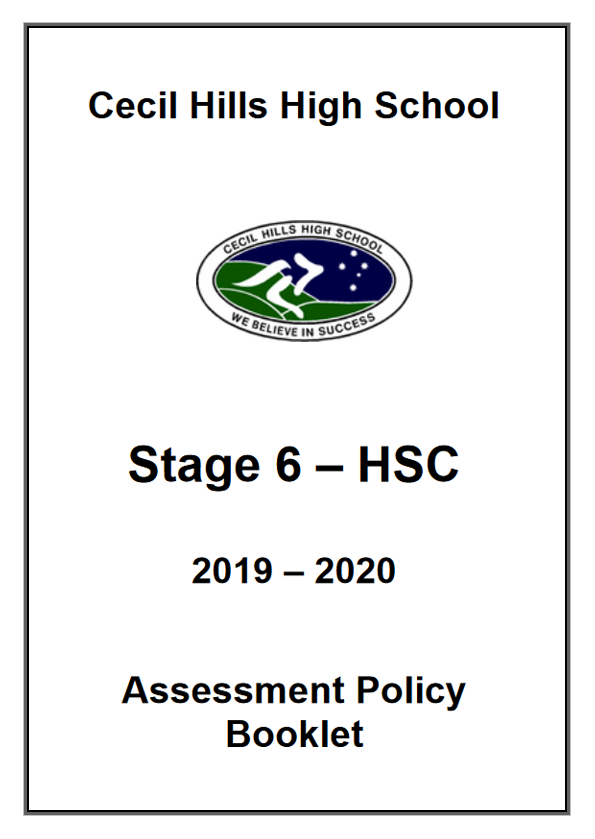 Student Information Booklet 2019