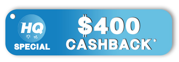 HQ Services $400 Cashback Offer
