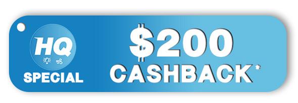 HQ Services $200 Cashback Offer
