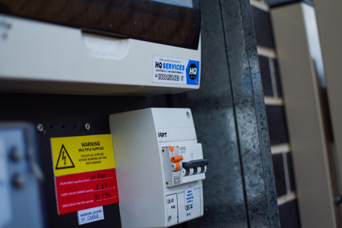 Safety Switch Installed in Switchboard by HQ Technician