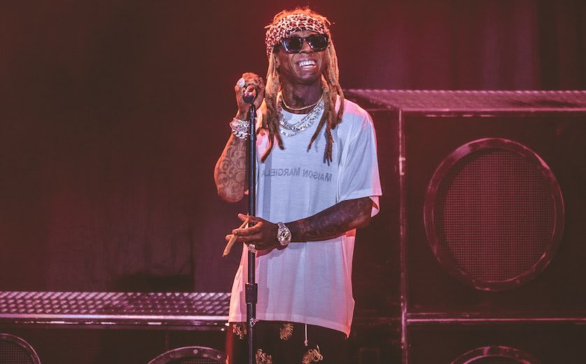In photos: Lil Wayne & Blink-182 continue joint tour with Dallas stop