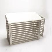 Varmepumpehus stål - VPS90