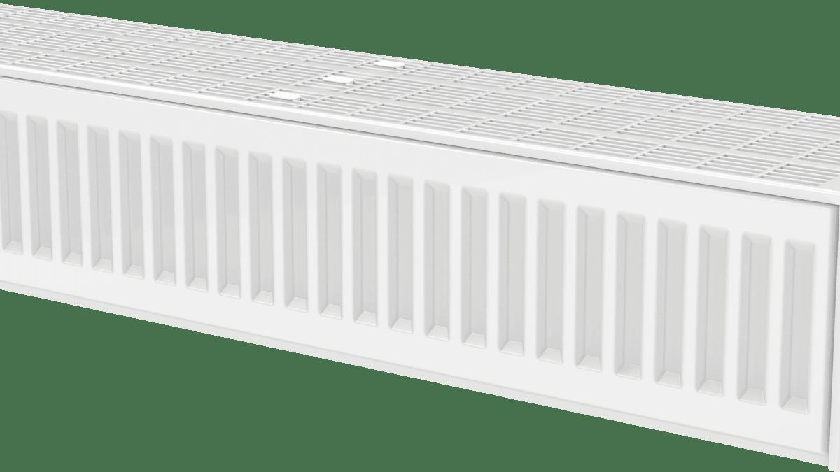 20 cm høye radiatorer