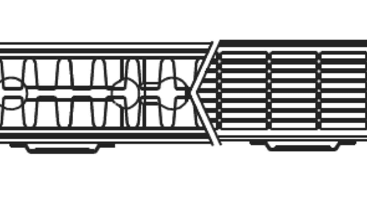 To panels radiator (22) VK9