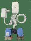 VIWA Watersafe, trådløs med autotest og alarmsignal. To sensorer.