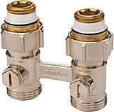 """H-ventil, rett for 3/4"""" Euroconus"""