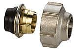 15 mm klemringskopling for stål/kobberrør